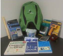 Energy audit backpack kit