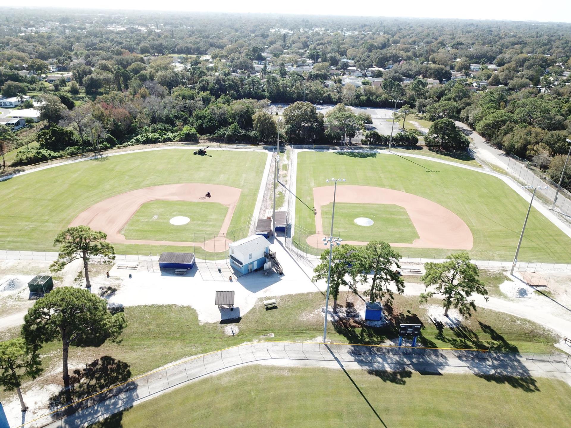 Babe Ruth baseball complex