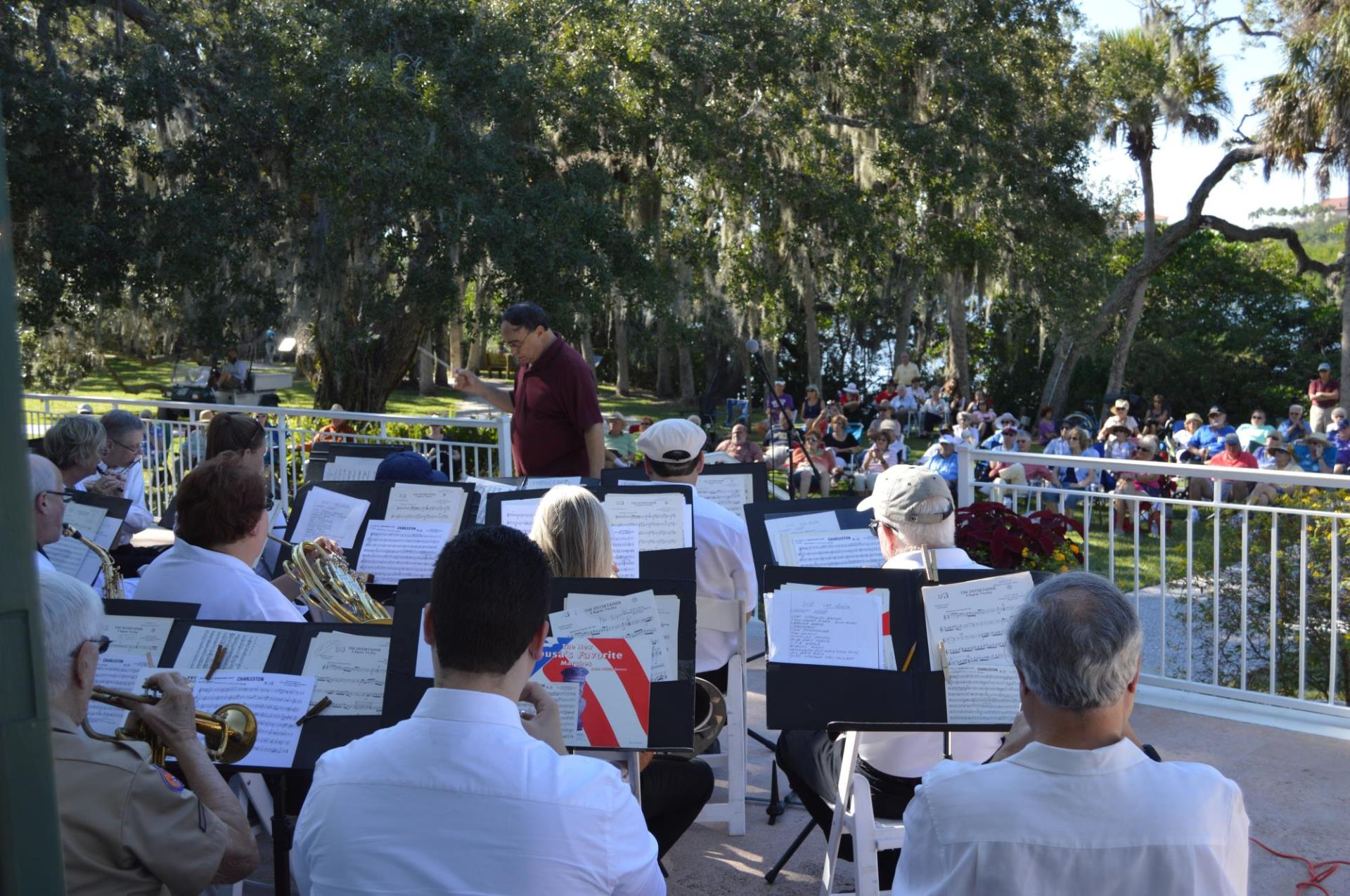 Brown Bag Concert series of music in the Park at the Phillippi Estate Park