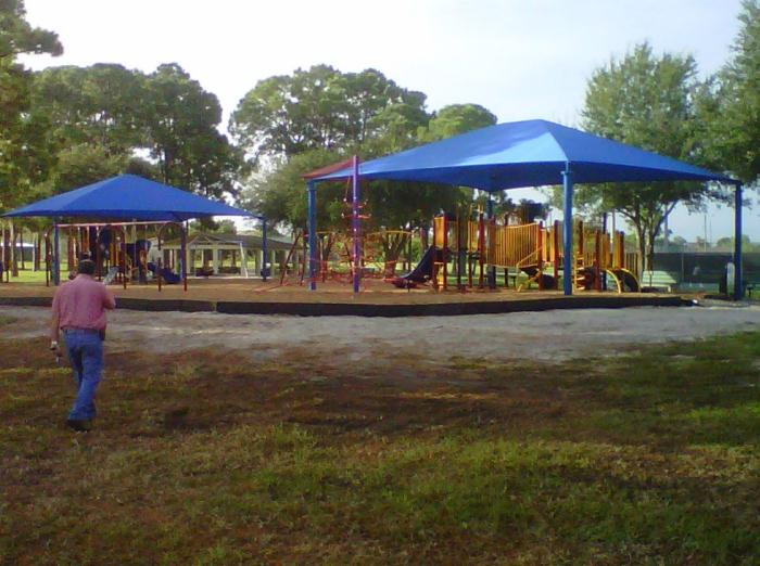 Dallas White Park playground