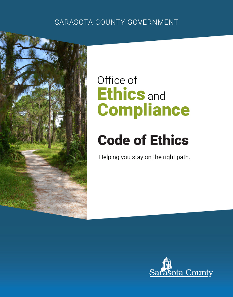 Sarasota County Code Of Ethics Manual