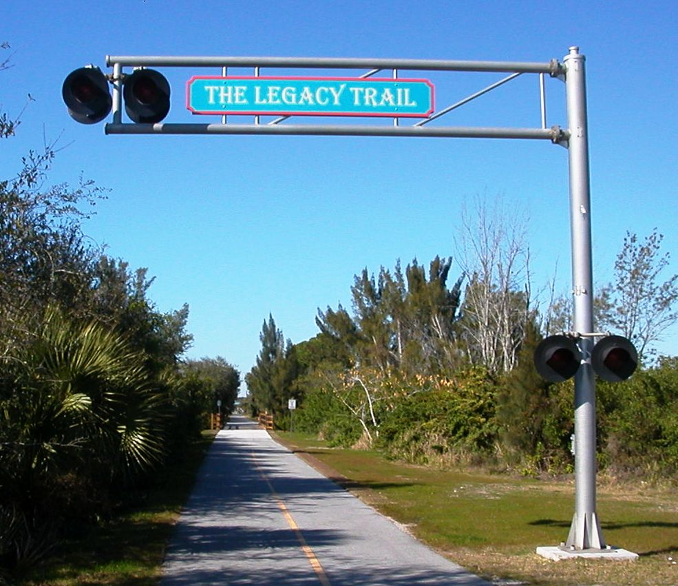 Legacy Trail Sign