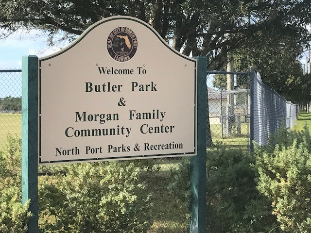 Butler New Sign