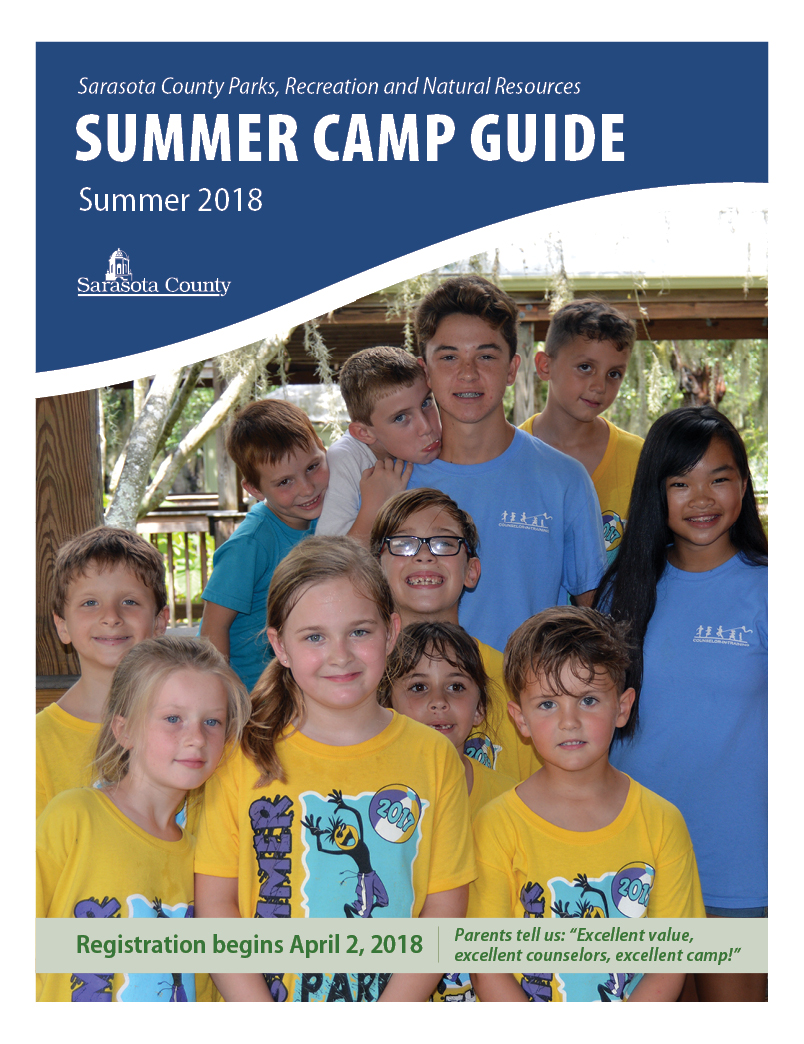 Summer Camp Guide 2018 COVER