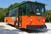 Siesta Breeze SCAT Trolley Bus