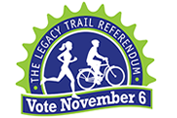 Legacy Trail Referendum, Voat Nov. 6