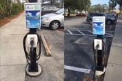 New charging stations