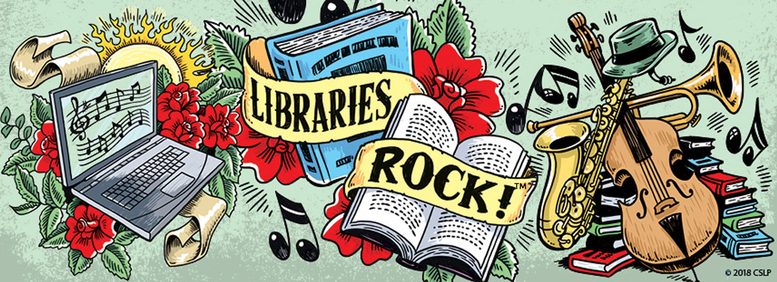 Libraries Rock! Summer Learning Program
