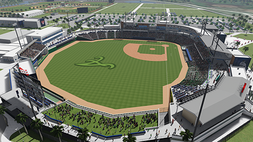 Artist Rendering of Stadium