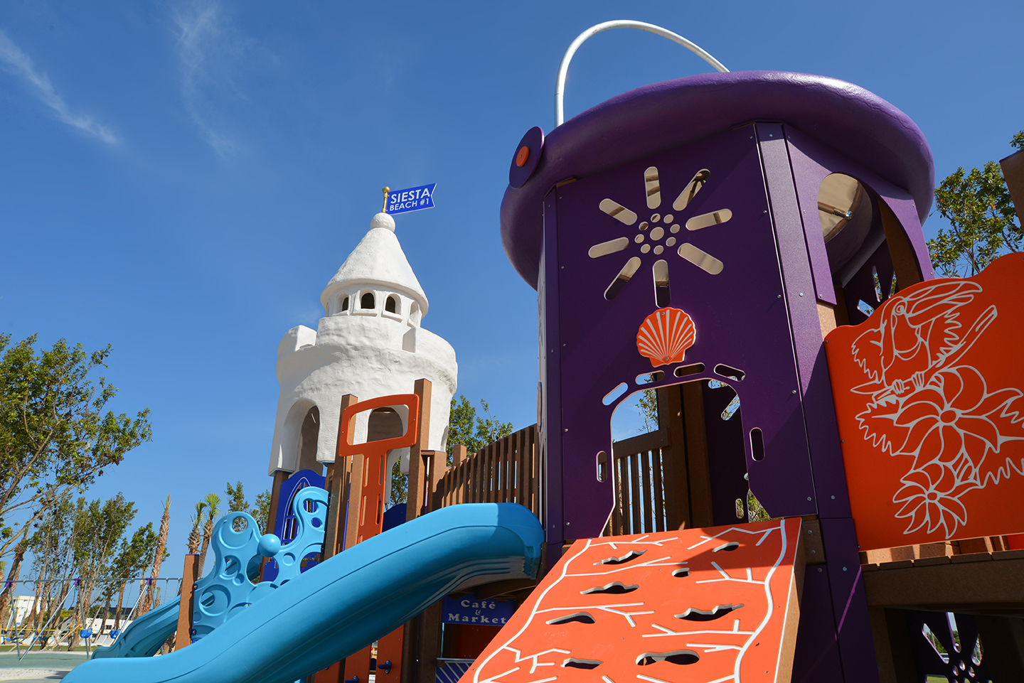 Siesta Beach Playground equipment