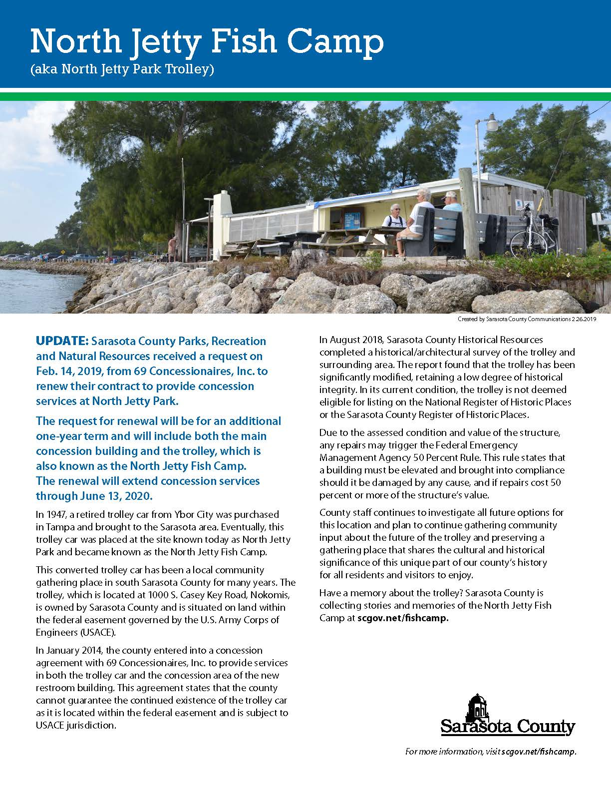 North Jetty Fish Camp Sarasota County Fl Repairing Your Old Equipment Can Lead To Substantial Savings Downloadable Fact Sheet
