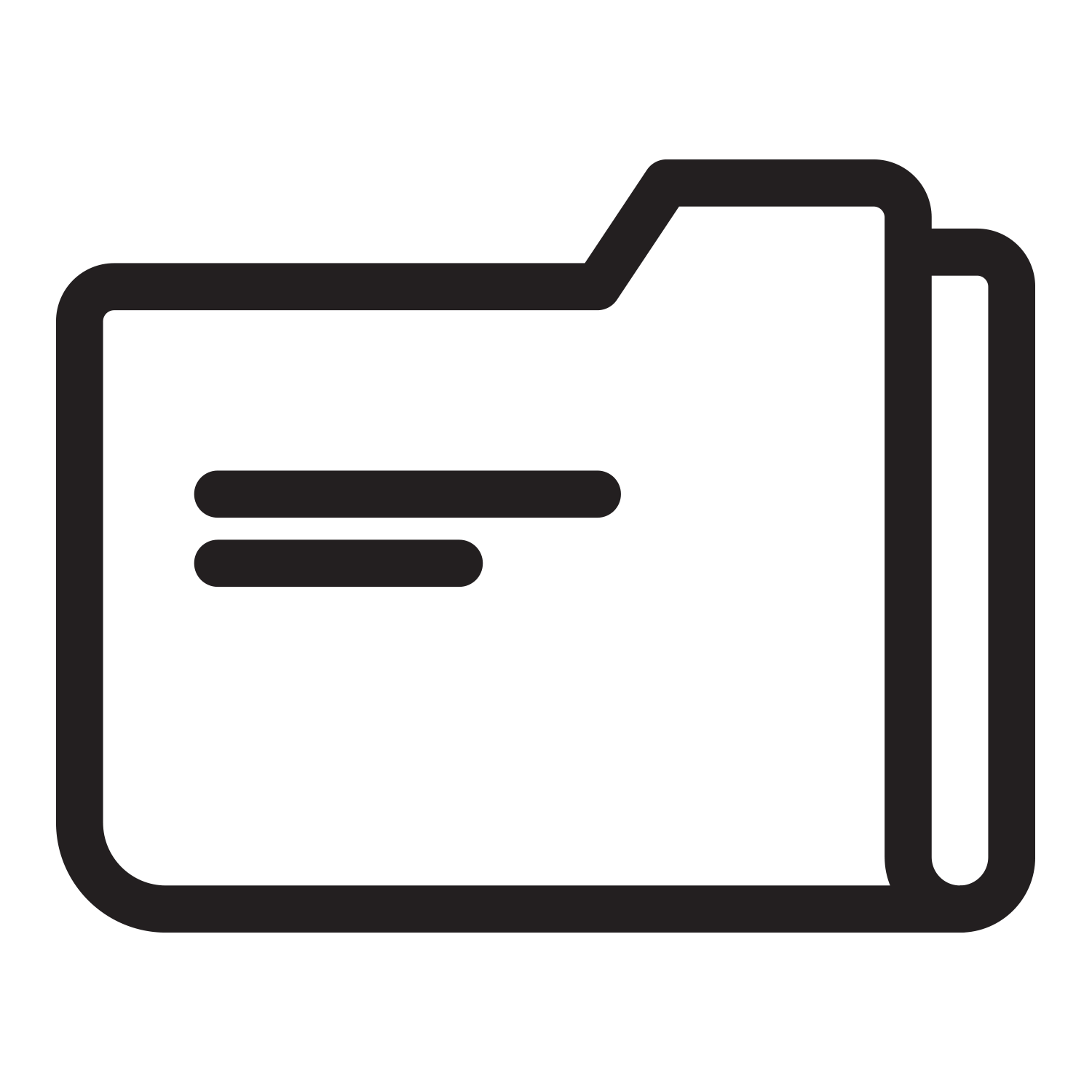 Folder Icon, read previous updates about the Legacy Trail