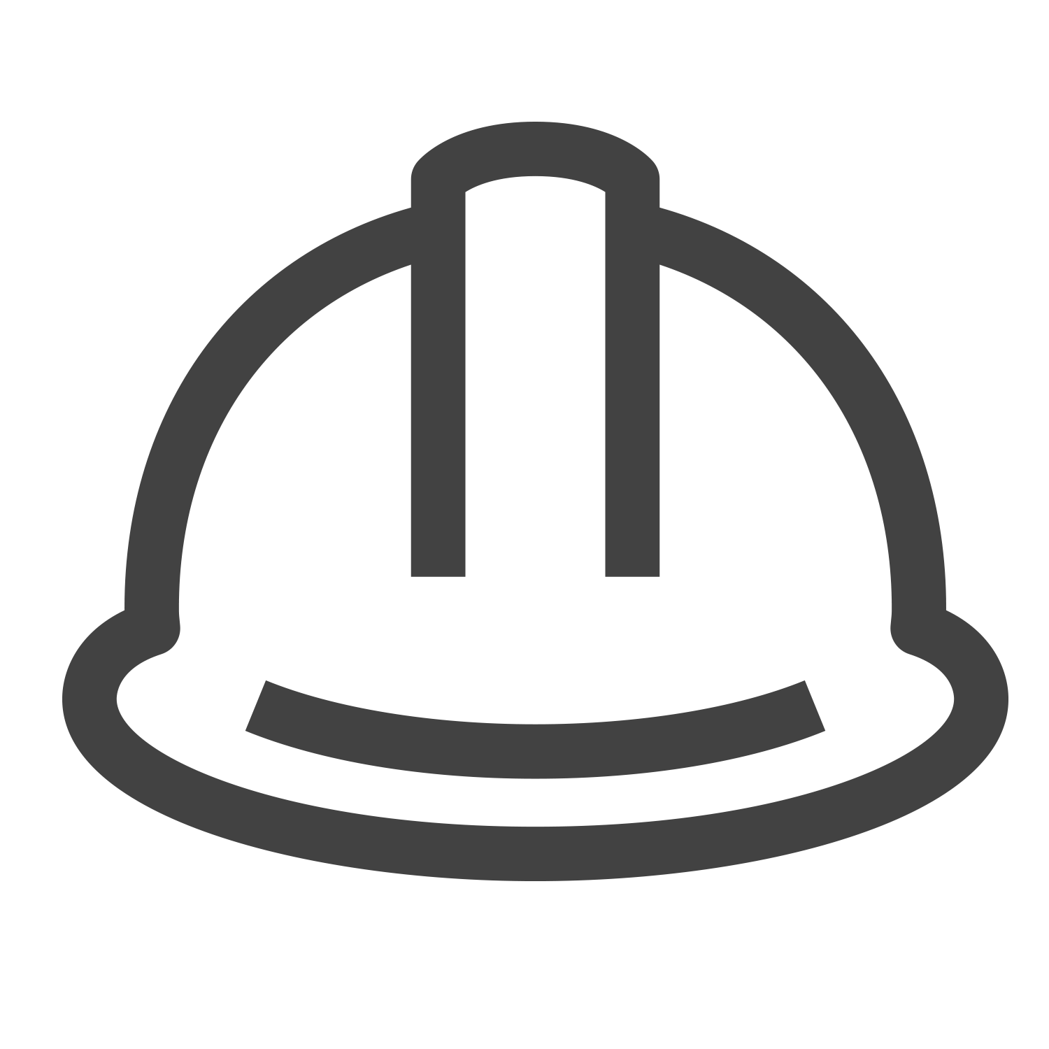Construction Hard Hat Icon, read about the project