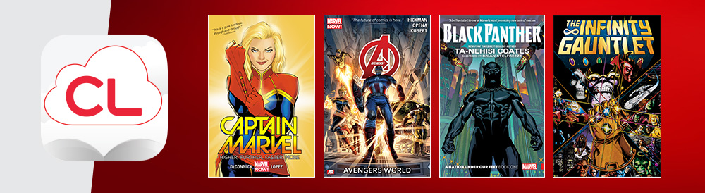 cloud library marvel comics