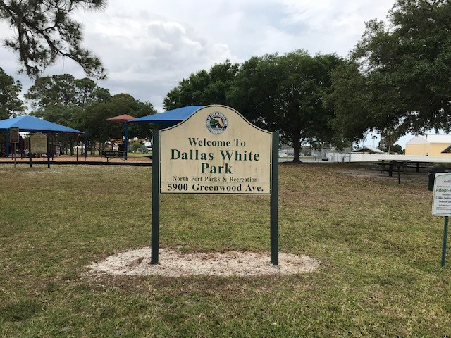 Dallas White sign
