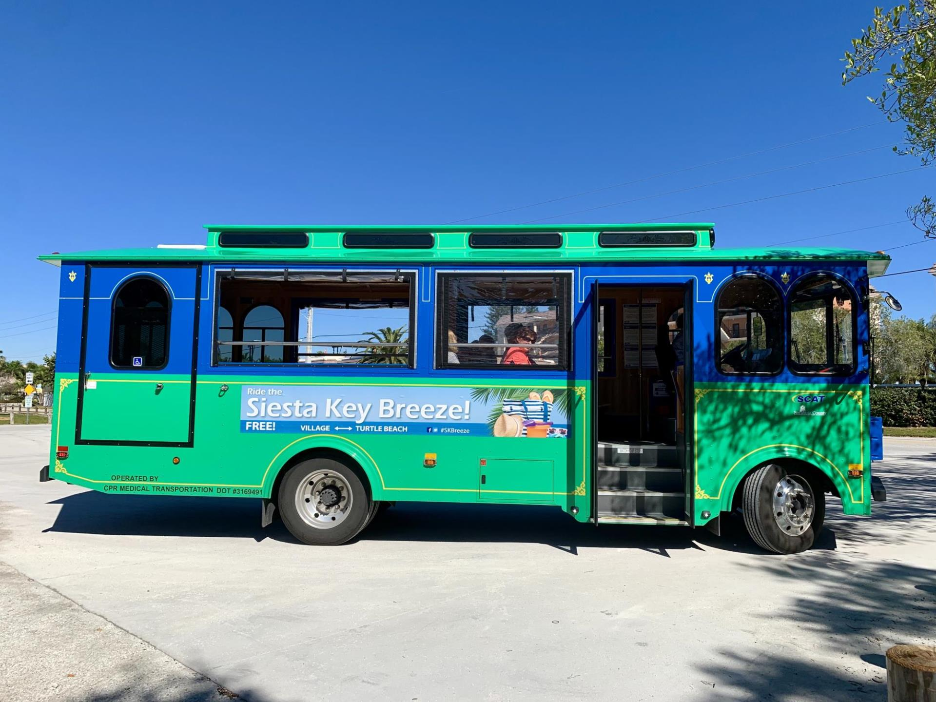 Siesta Key Breeze Trolley