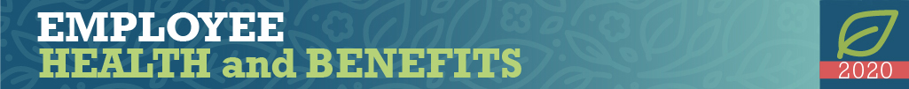 Employee Health and Benefits new webpage banner