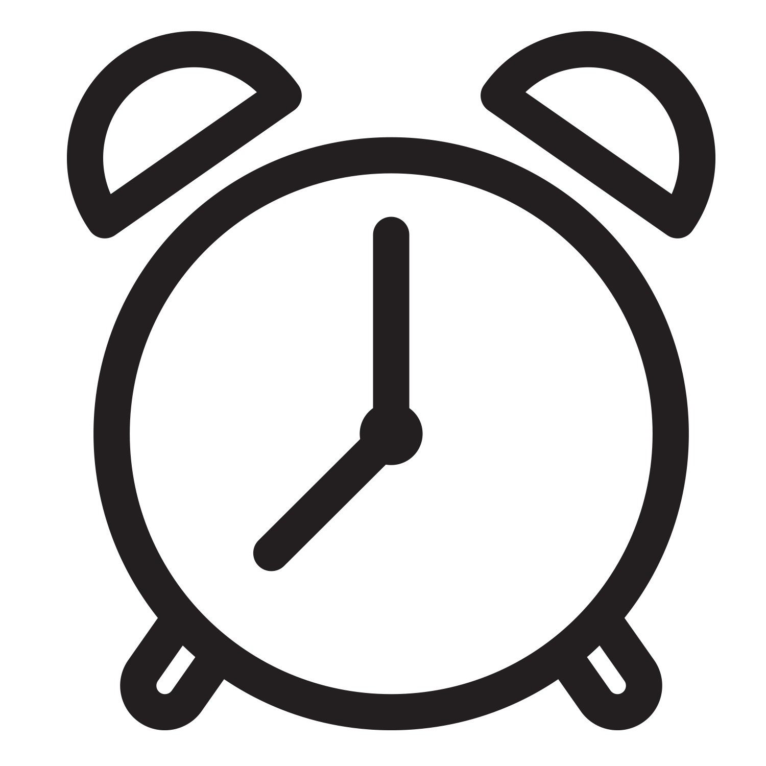 Clock Icon, learn more about the project timeline