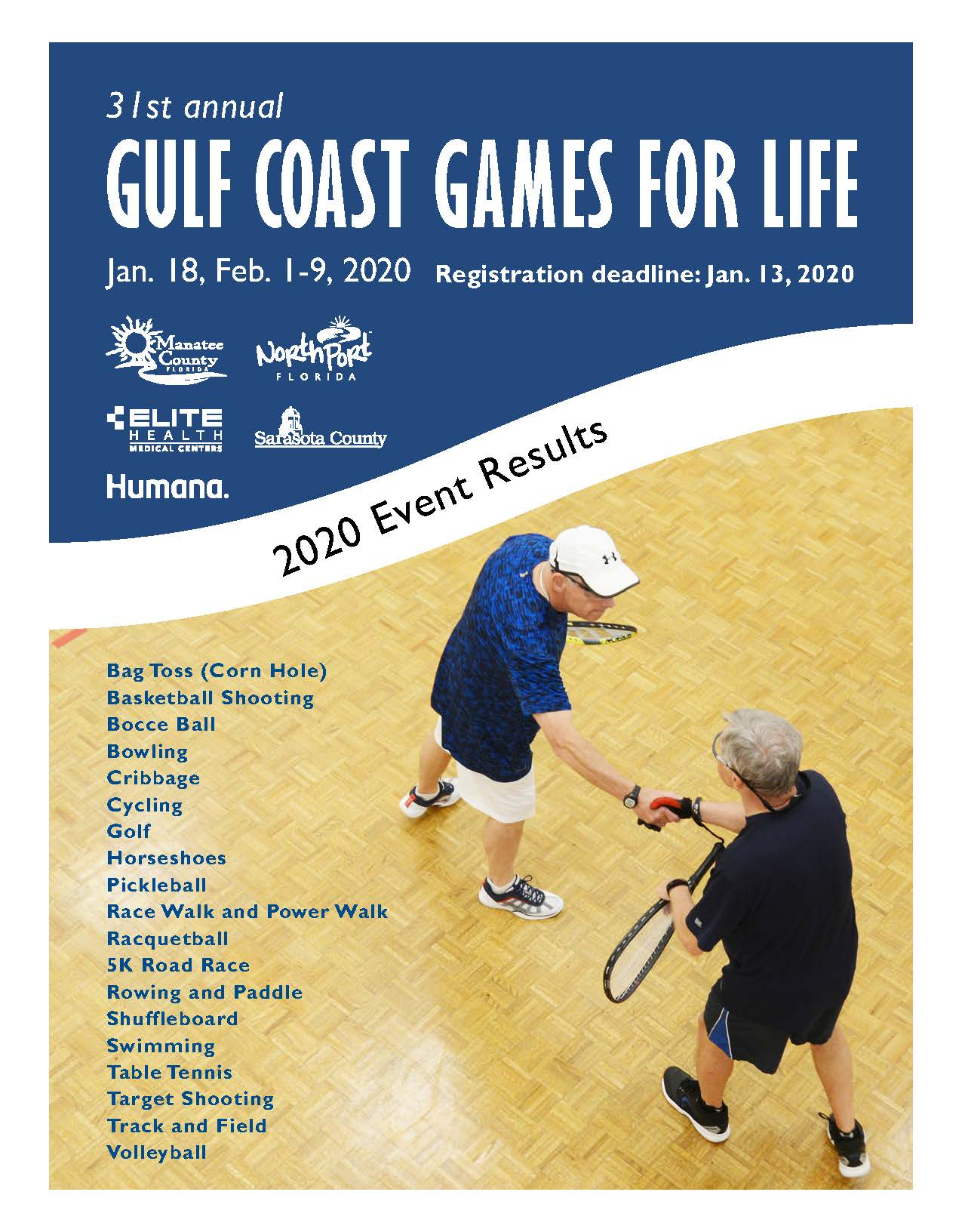 Gulf Coast Games For Life Guide Cover 2020