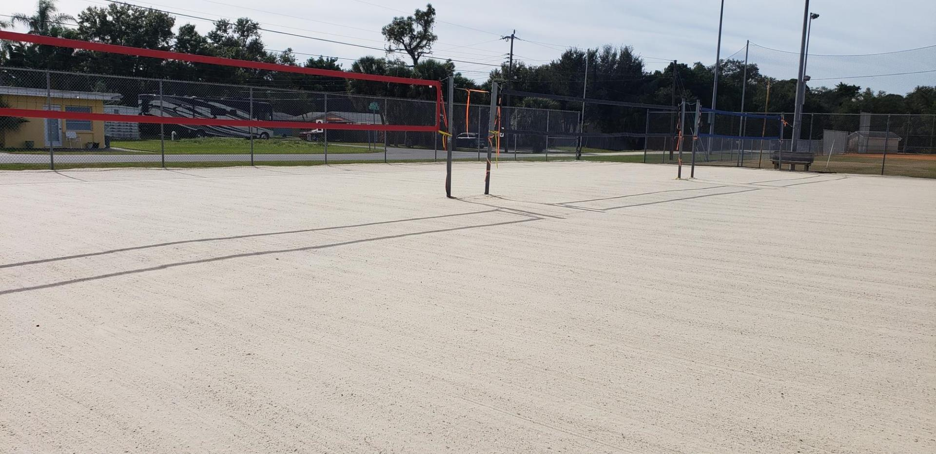 Bee Ridge Volleyball court