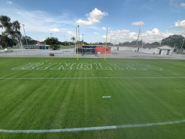 Ringling Redskins football field
