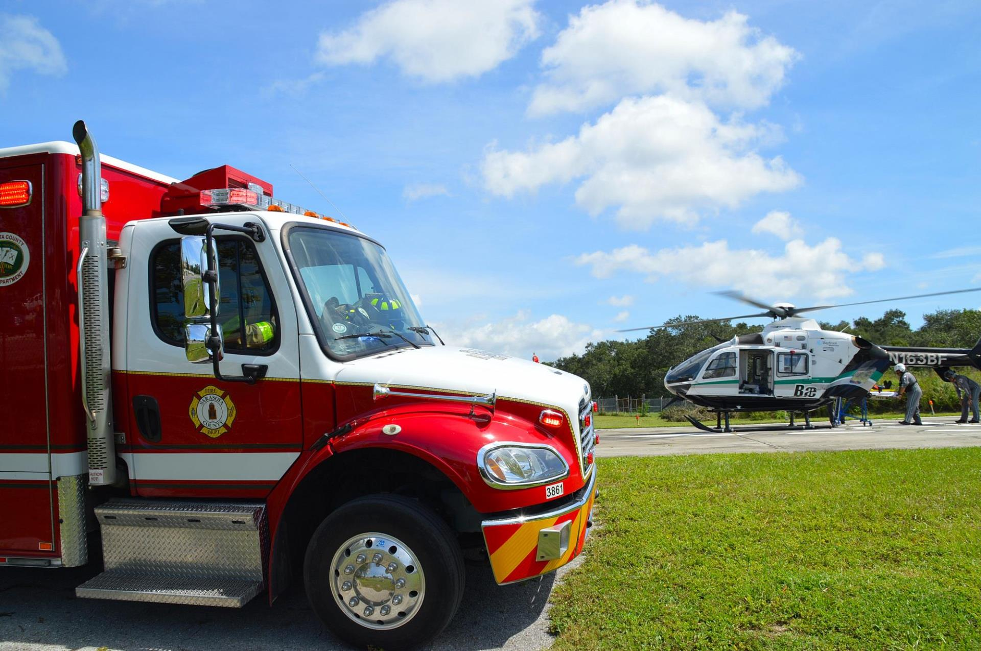 Rescue 20 and Bay Flite at Fire Prevention Open House The Sarasota County Fire Department ...