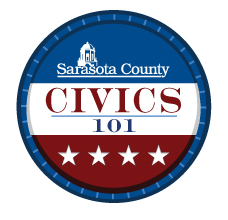 Logo for Sarasota County Civics 101 classes