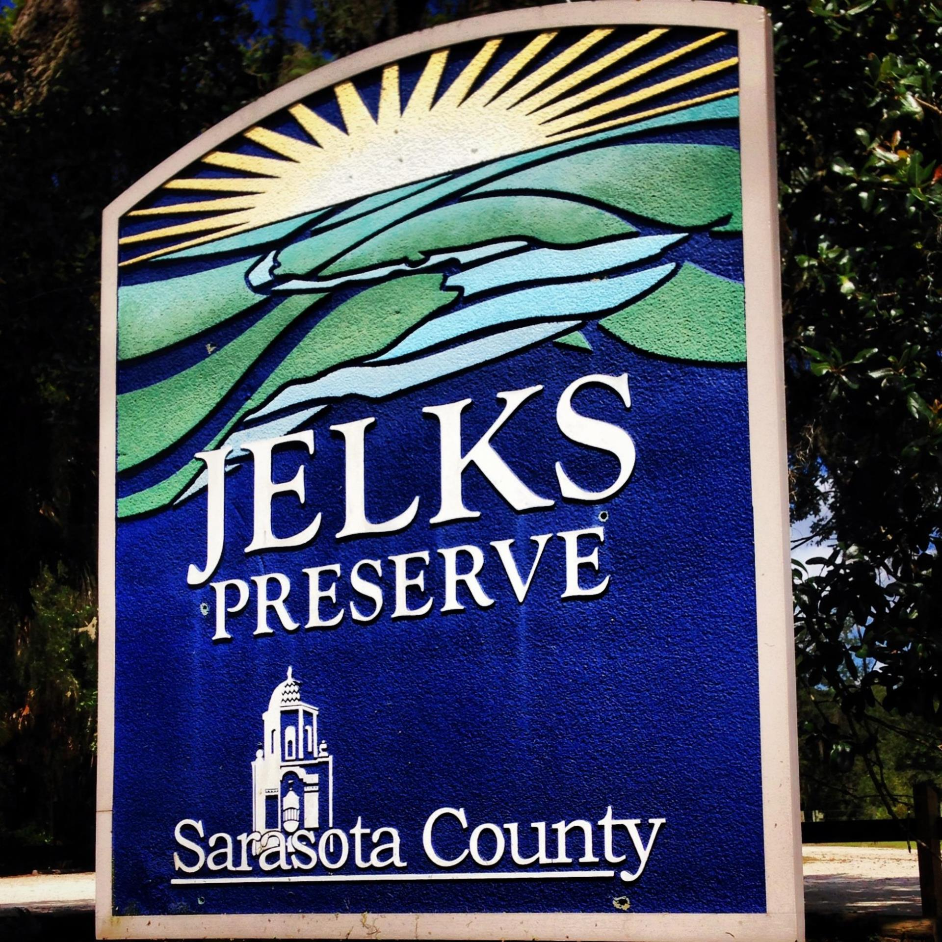 Jelks Preserve Entrance Sign