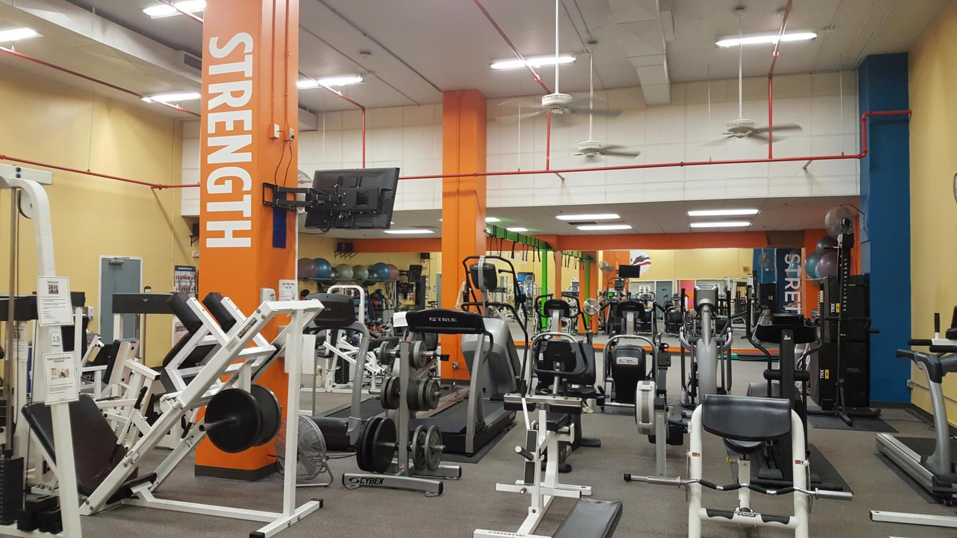 Employee fitness center at 1660 Ringling Blvd.