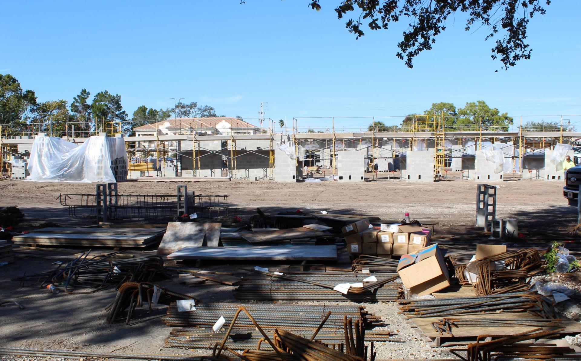 William H. Jervey, Jr. Venice Library in the making