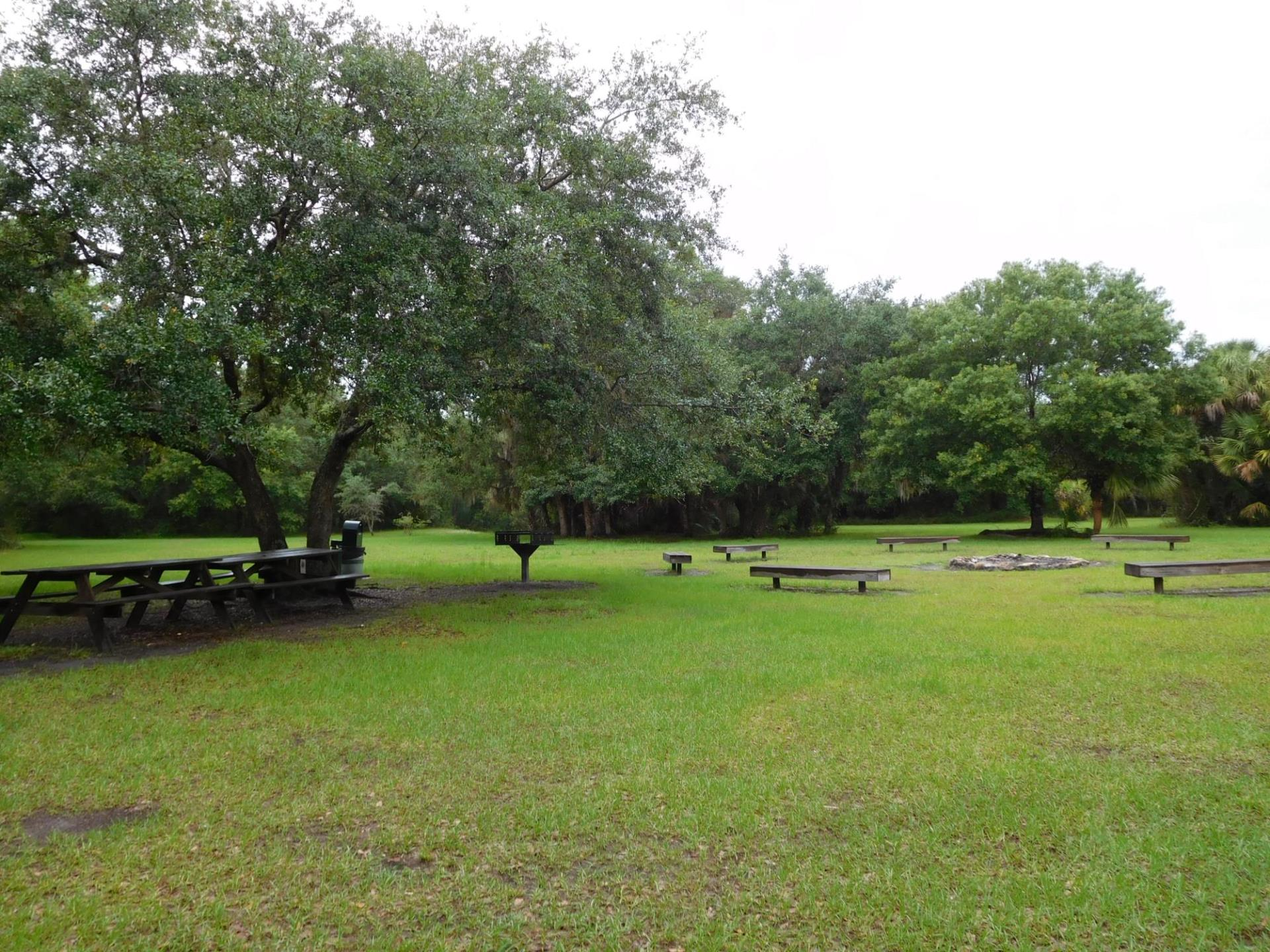 Myakkahatchee Creek Environmental Park-Campsite