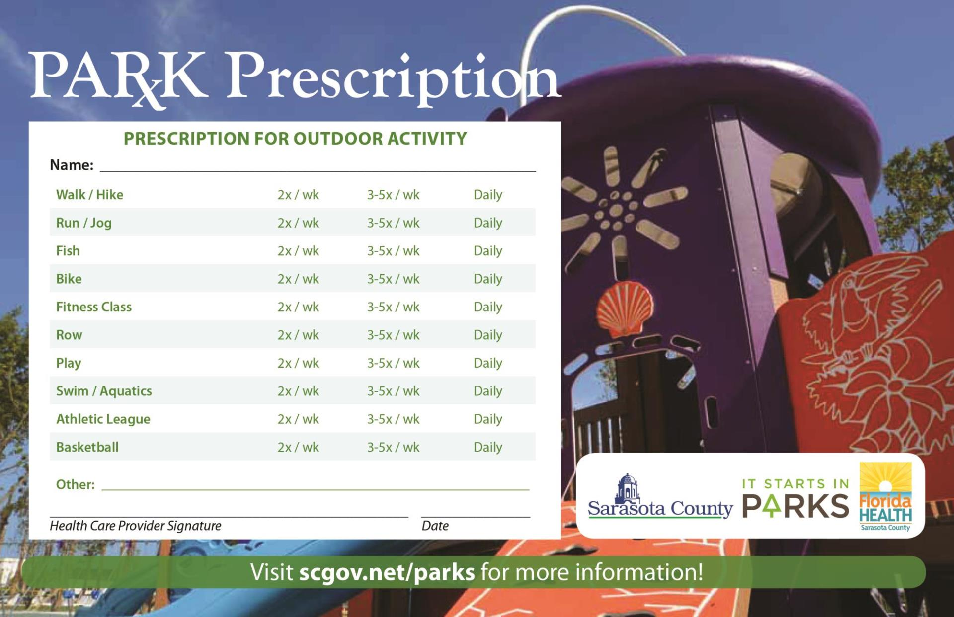 Park Prescription