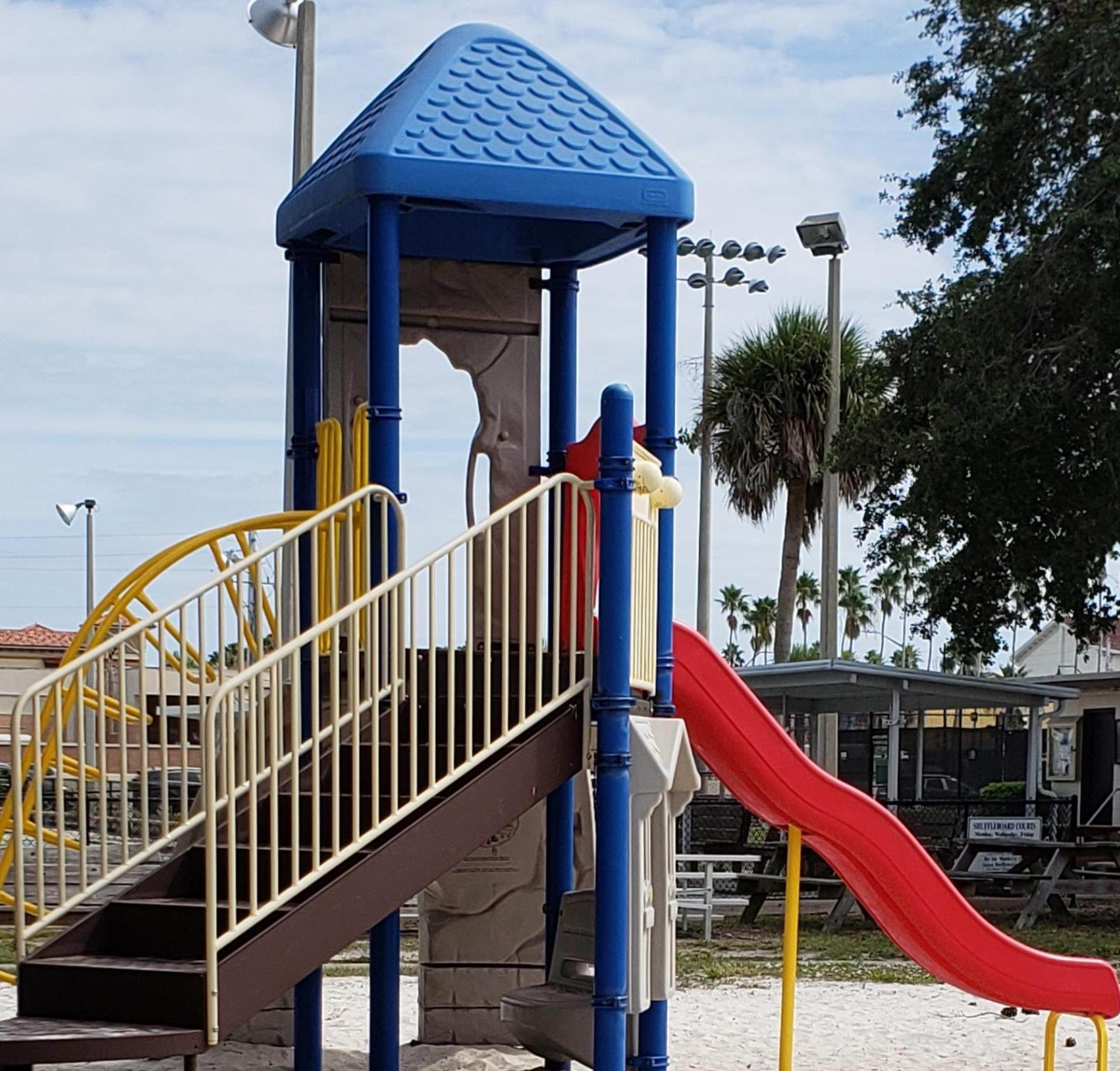 Heckscher Park Playground Equipment