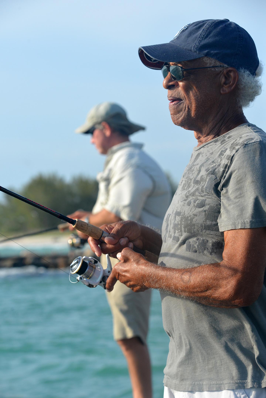 Fishing South Jetty