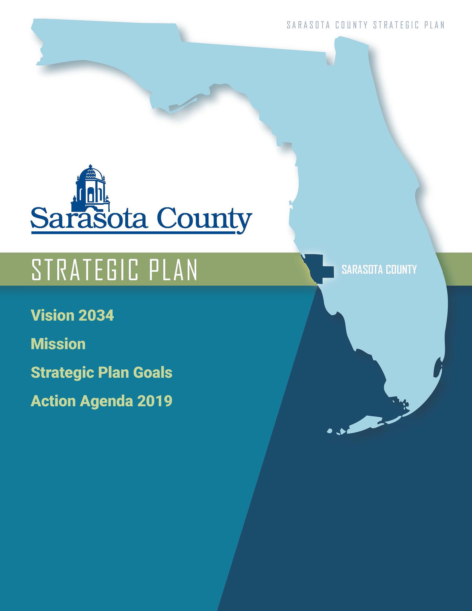 Sarasota County Strategic Plan Cover